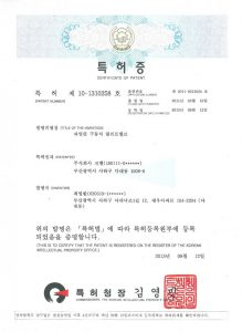 Patent 10-1310258 ; pilot operating type relief valve(1)